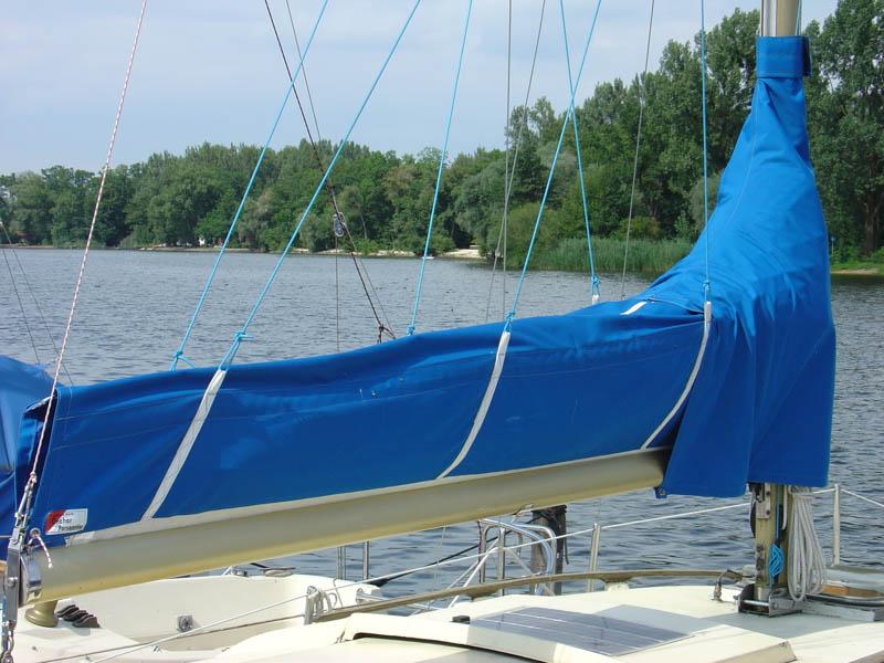 Boot Mit Blauem Lazybag